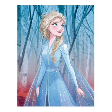 Frozen 2   Elsa - Fearless Postcard