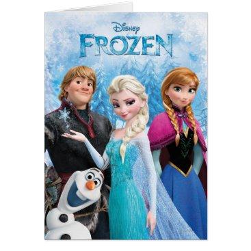 Frozen   Anna, Elsa, Kristoff and Olaf