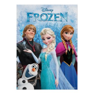 Frozen Group Poster
