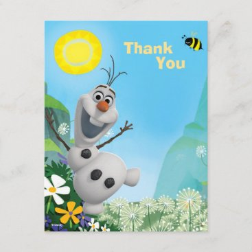Frozen Olaf   Wild for Summer Thank You