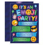 Fun Emoji Party Invitation