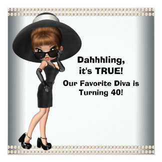 Humorous 40th Party Invitations