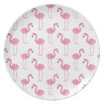 Fun Flamingo Plate