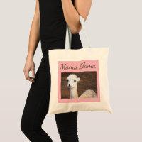 Fun Llama Tote Bag