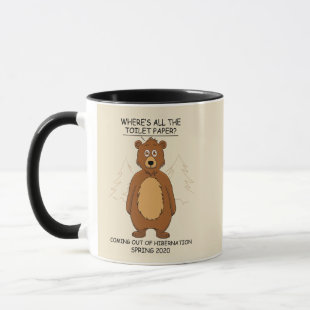 Funny Bear out of Hibernation Mug