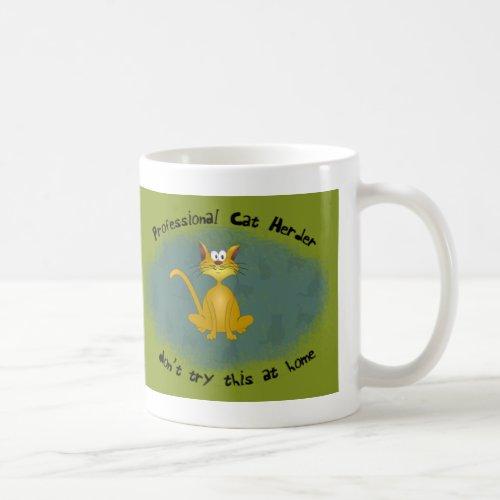 Funny Cat Herder Mug