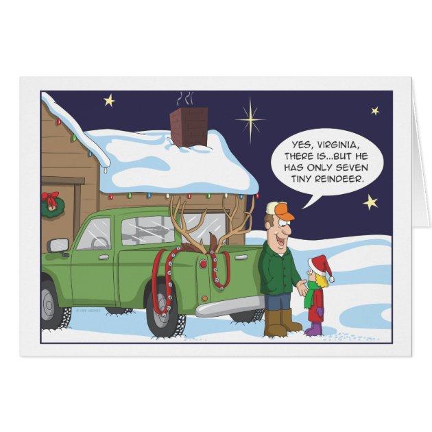 Funny Christmas Card Deer Hunting Humor Card Zazzle