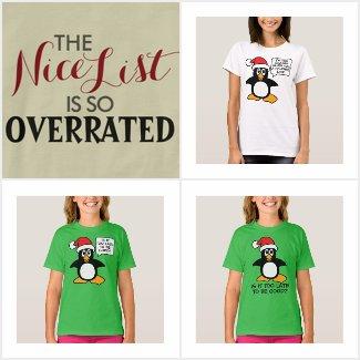 Funny Christmas Saying T-Shirts