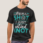Funny Divorce Party Gag Gift Untie Knot Break Up T-Shirt