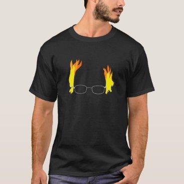 Funny Fiery Hair Bernie Sanders T-Shirt