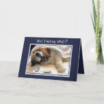 Funny Eat Two Bones Get Well Card