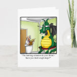 Funny Have You Tried Cough DropsGet Well Greeting Card