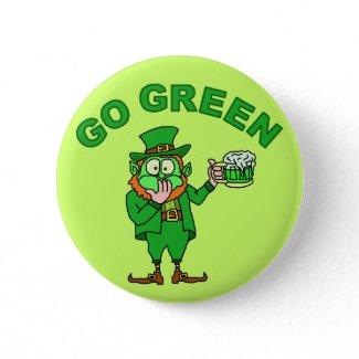 Funny Saint Patrick's Day Drinking Leprechaun Beer T-Shirt