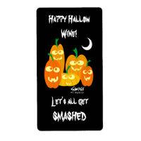 Humorous Halloween Wine Labels