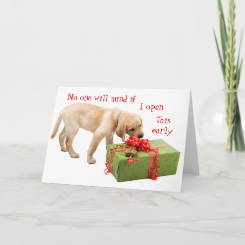 Funny Holiday Greetings from the Dog