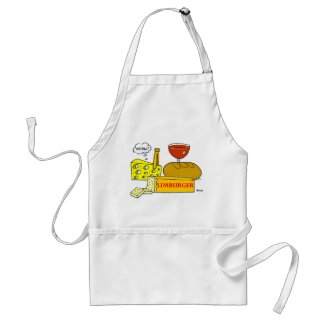 Funny Limburger Cheese Apron