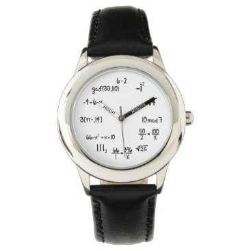 Funny Math Equation Wrist Watch