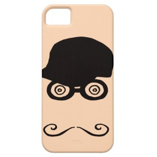 Funny Mustache iPhone 5 cases