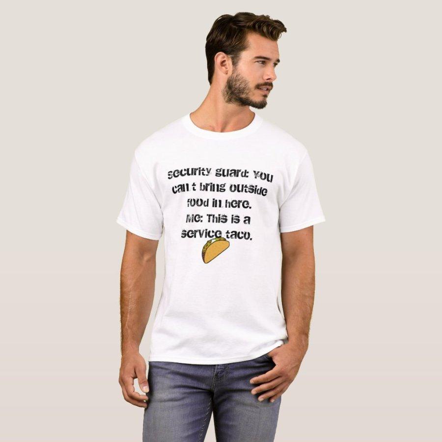 Funny Service Taco Shirt