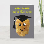 ❤️ Funny Tater Tot High School Graduation Congrats Card