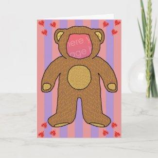 Teddy Bear Lingerie Pun Humor