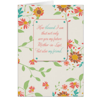 Future Mother In Law Cards | Zazzle