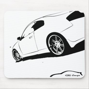G35 Coupe Mouse Pad