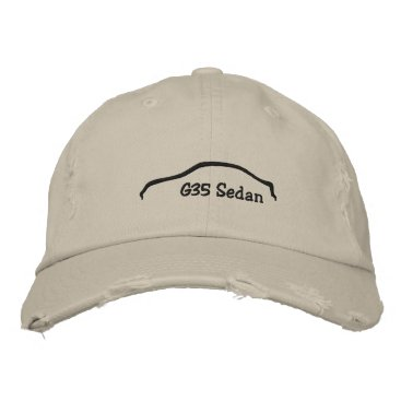 G35 Sedan Embroidered Baseball Hat