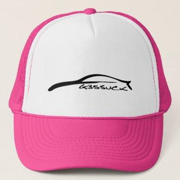 G35Suck Pink Ricer Trucker Hat