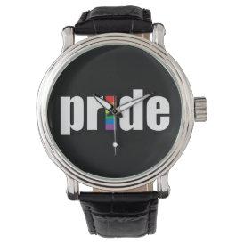 Gay Pride Wrist Watch