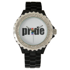 Gay Pride Wrist Watch