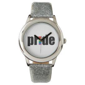 Gay Pride Wristwatch
