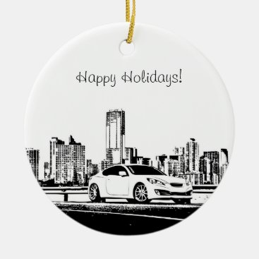 Gen Coupe Christmas Ornaments