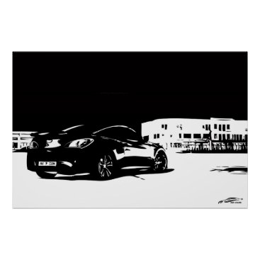 Genesis Coupe rear stance Poster