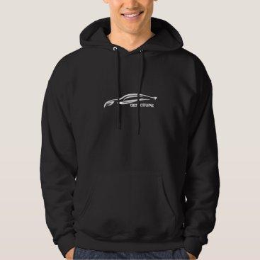 Genesis Coupe White Silhouette Logo Hoodie