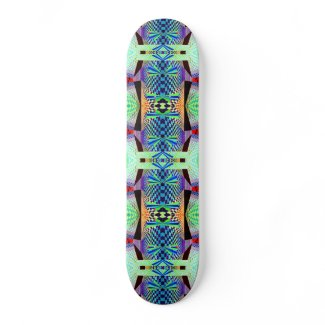 Geometrix Pathway 4 Custom Skateboard Deck Design skateboard