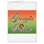 Georgia Peach - Cursive cards