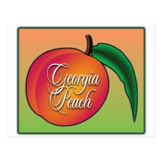 Georgia Peach Postcards