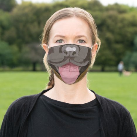 German Shepherd nose and Mouth