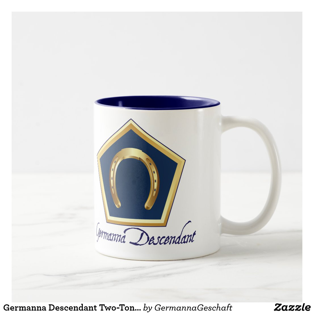 Germanna Descendant Two-Toned Mug