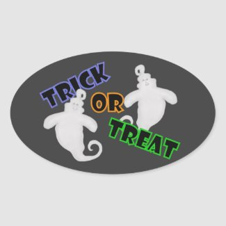 Ghost: Trick Or Treat Stickers