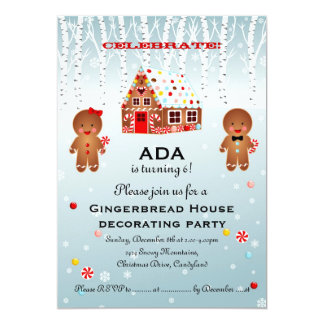 Gingerbread Man Evite Premium Invitation