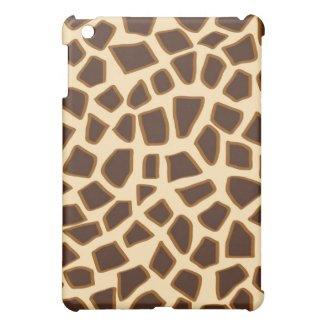 Giraffe print - iPad case