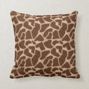 Giraffe Skin Spots 2 Pillows
