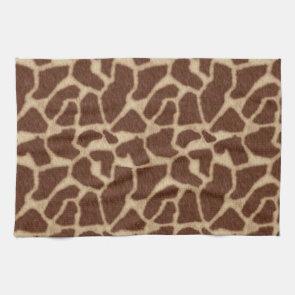 Giraffe Skin Spots 2 Towel
