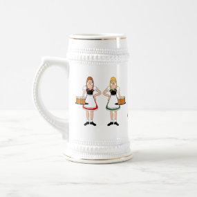 Girls, Beer, Oktoberfest! mug