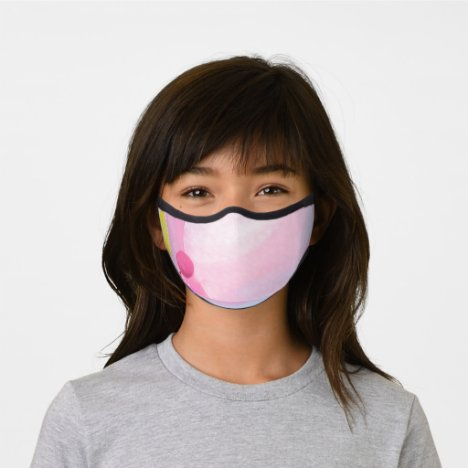 Girls Premium Pink Party Face Mask