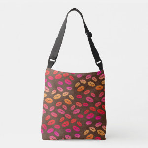 Girly Lips Kisses Tote Bag