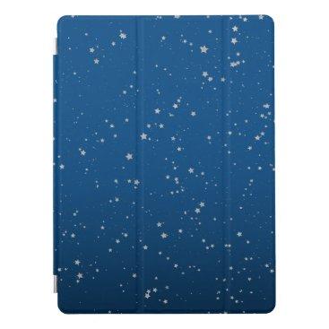 Glitter Stars 5 - Classic Blue & Silver (2020) iPad Pro Cover