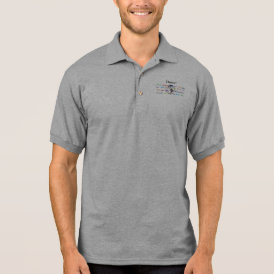 Global Dance - The Global Language (Customizable) Polo Shirt
